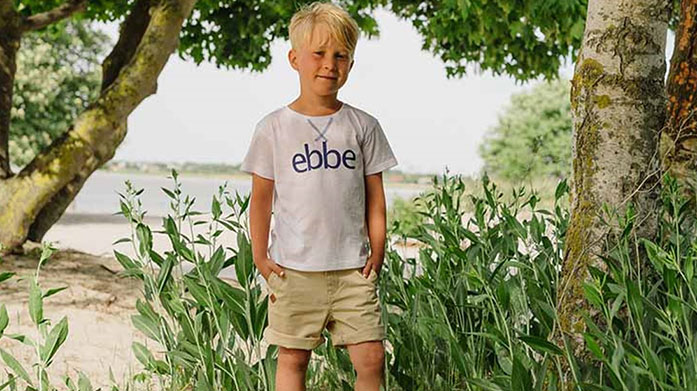 Ebbe Baby & Kids Discover organic and sustainable baby clothing from Swedish brand, Ebbe. Shop nautical and printed babygrows, singlets and more for boys and girls. Available in sizes 1 month - 14 years.