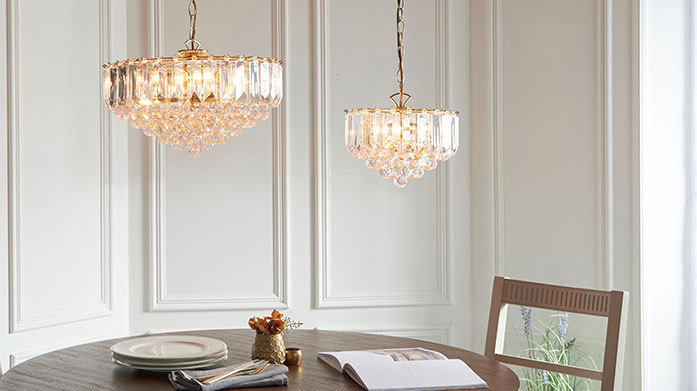 Lymington Lighting under £100 Invest in some fresh lighting fixture in our sale with Lymington Lighting. There's plenty of pieces to elevate your space, all at under £100.