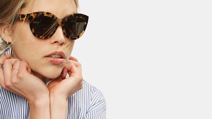 The Best of Designer Sunglasses for Her No look is complete without a pair of show stopping designer shades. Choose from Guess,Barbour & more.