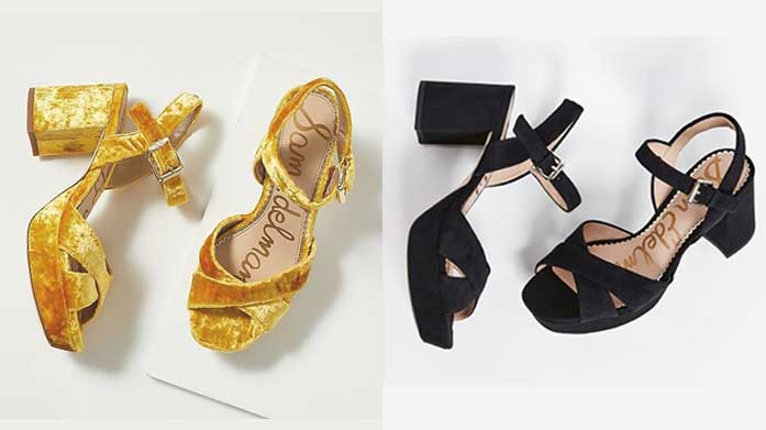 Trend Alert: Block Heels Make sure you're on trend this season with our edit of sassy block heels from some of our favourite brands including Ted Baker, Chloe and Dune.