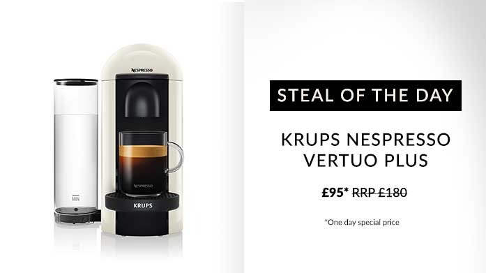 Buyer's Pick: Krups Nespresso Vertuo Plus
