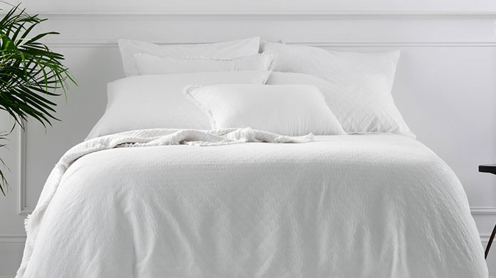 Sheridan Bed Linen Update your linen cupboard with this selection of sheeting, duvet covers and pillowcases from luxe brand, Sheridan.