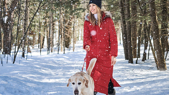 Winter Wardrobe For Her  Wrap up in style this winter with our pick of women's coats and jackets, padded gilets and jeans from Geographical Norway, Boden and more...