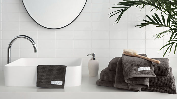 Sheridan Towels Choose from absorbent Egyptian cotton and textured cotton towels in this bathroom edit from luxury brand Sheridan.
