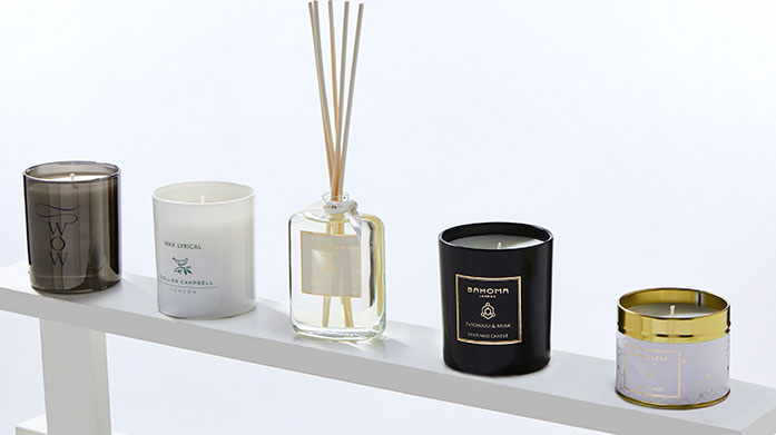 Candles & Diffusers Infuse your home with this collection of luxuriously scented candles and diffusers from Bahoma and Stoneglow.