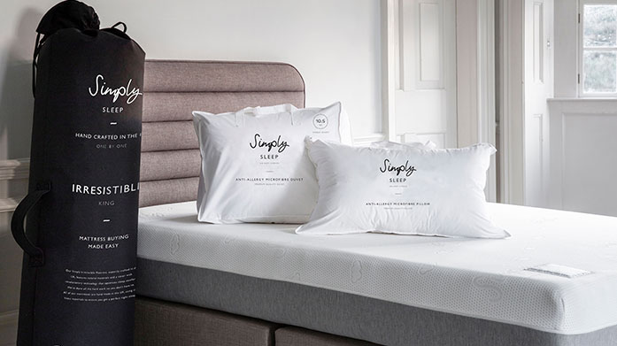 Simply Sleep Express Delivery Mattresses Simply Sleep Mattresses by Gallery are crafted in the UK from natural materials. Find the perfect mattress for the ultimate night's sleep.