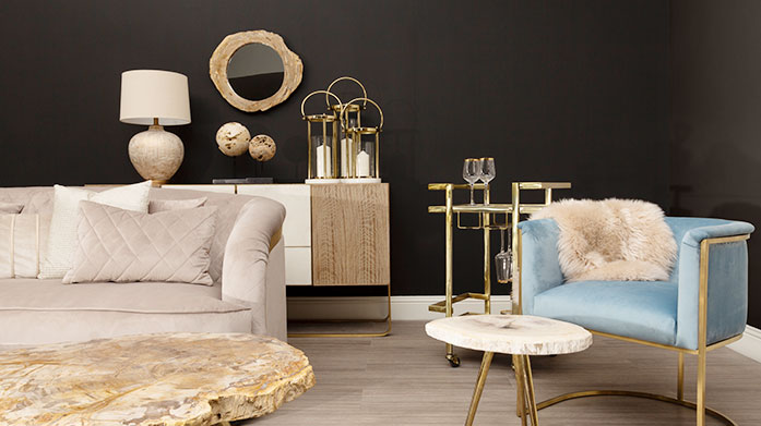 The Furniture Edit: The Luxe List Metallic accents, fun colour pops and deco inspired design make up this luxuriously decadent furniture edit.
