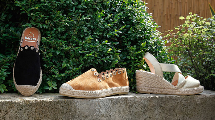 Kanna Espadrilles & More Discover espadrille wedges, flats and sandals for the perfect summer accessory. There's a style and fit for all.