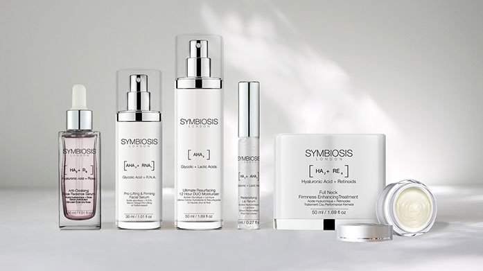 Symbiosis Ageing Skincare Solutions  Great skin awaits with Symbiosis London's range of clarifying cleansers, firmness enhancing treatments and anti-ageing serums.
