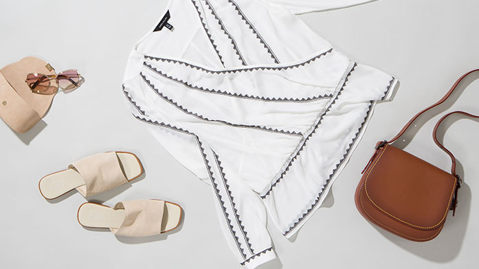 Best of Summer Trends For Her  Discover the latest trends for summer from our edit of designer womenswear. Shop woven handbags, espadrilles, linen clothing and more.