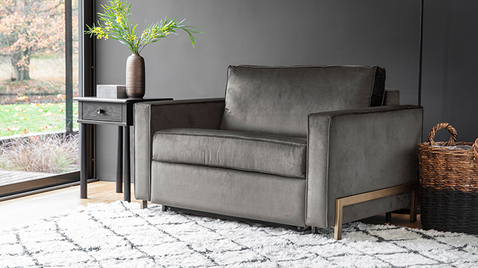 Compact Sofabeds by Gallery Turn your lounge into a luxury bedroom for your guests with a stylish, compact sofa bed by Gallery.