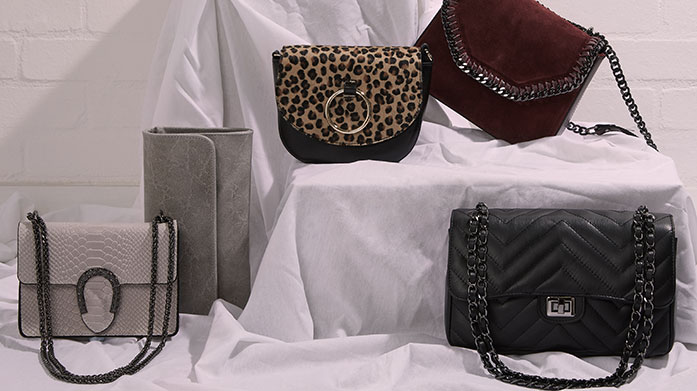 Leather Bags Under £50 Find a stunning Italian leather handbag at a fraction of the cost! There's clutches, backpacks and shoulder bags all for under £50.