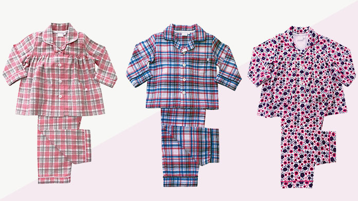 Mini Vanilla Pyjamas Sweet dreams are made of this: traditionally styled boy's and girl's nightwear in playful prints from Mini Vanilla.