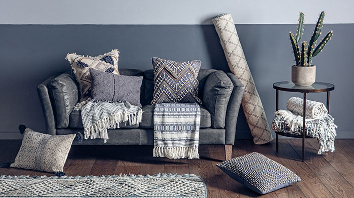 Blue & Grey Home Trend
