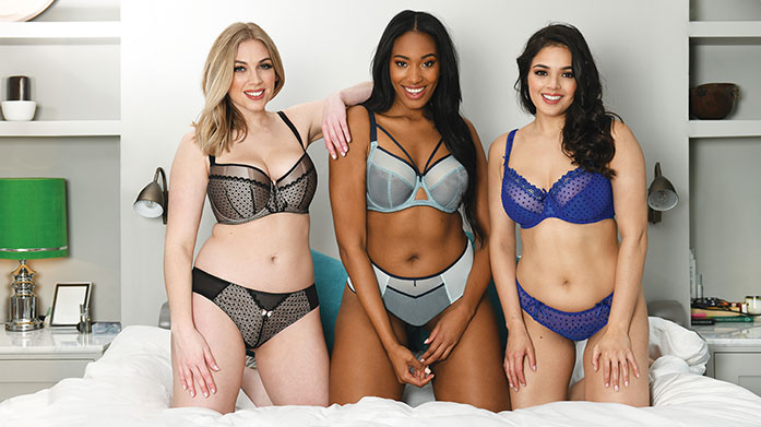 Curvy Kate Lingerie & Swimwear In sizes D to K, discover gorgeous swimwear abd lingerie that curvy girls will absolutely love to wear.