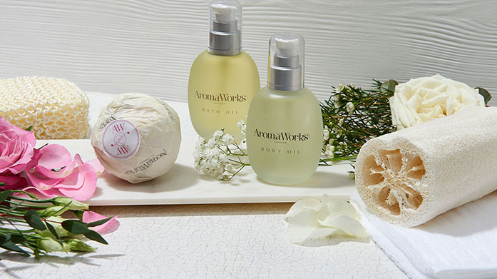 Aroma Works Beauty & Wellness Discover natural beauty products from multi award-winning brand, Aroma Works. Shop cosmetics, candles and diffusers.