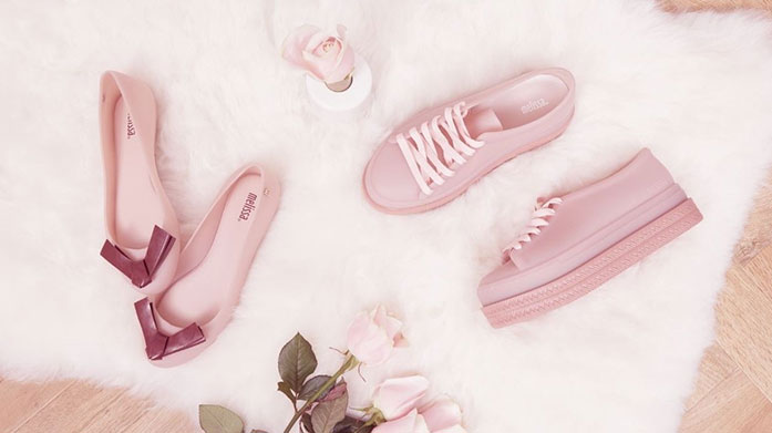 On Wednesdays We Wear Pink Shoes Get in, we're going shopping! Look pretty in pink at any occasion with a gorgeous pair women's sandals, trainers, high heels or flats.