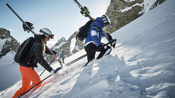 Skiwear Clearance Seriously stylish designs for your next trip to the slopes in our women's skiwear clearance. Featuring Geographical Norway, Canadian Peak and Spyder.