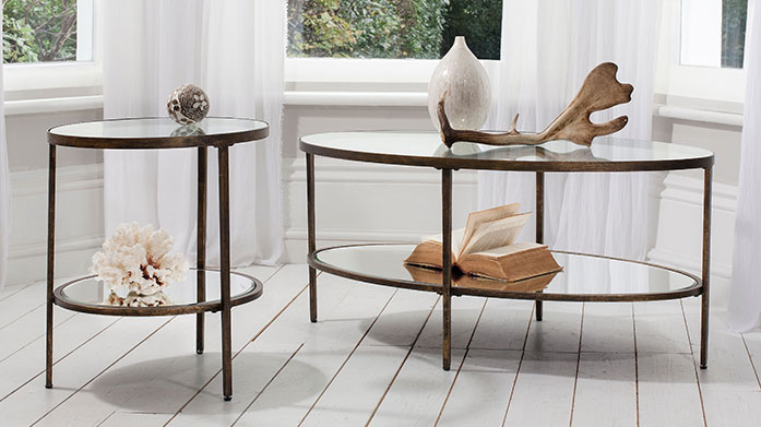 Furniture to Go Give your home a stylish boutique feel with a gold side table, stylish wooden rocking chair or metallic piece of furniture.