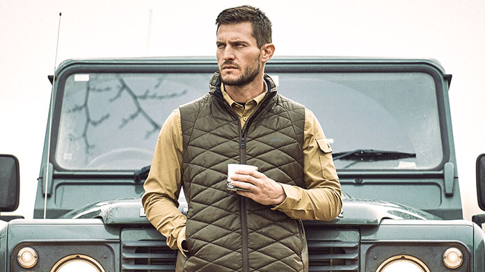 Weekend In The Country Men's Escape to the country for a long weekend and dress for the occasion with stylish winter jackets, knitwear and polos from Musto and Geographical Norway.