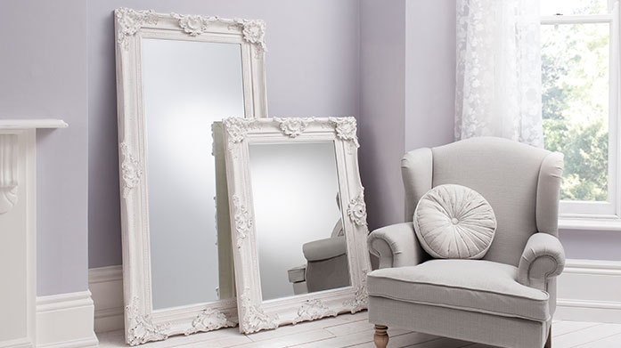 Gallery Leaner Mirrors Make your mirror the focal point of your room with one of Gallery Home's leaner frames in a range of stunningly ornate designs.