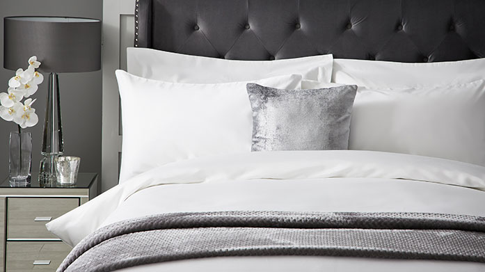 Luxury Thread Count Linens Sleep in pure luxury with our latest edit of exquisitely high 800 and 1000 thread count linens in a gorgeous range of muted shades.
