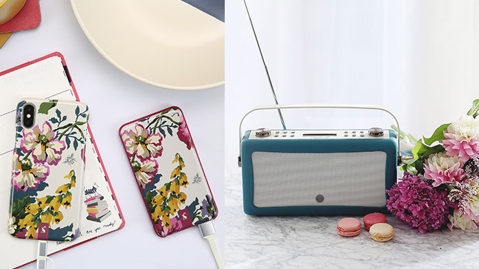 The VQ Collection Radios that look as good as they sound: stylish DAB designs in retro pastel hues and slick modern designs.