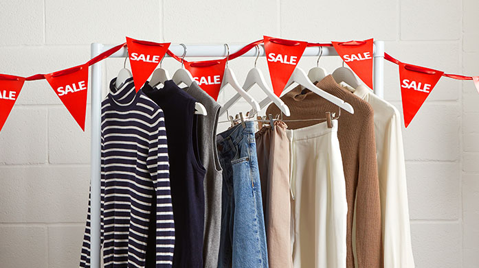 Last Chance to Buy Clearance From luxury lingerie to everyday dresses and essential footwear, our womenswear clearance features DKNY, J Brand and Stella McCartney.