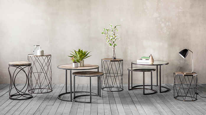 Furniture to Go Make a statement and elevate your interiors with this stylish selection of furniture from Gallery, LOMBOK, Willis & Gambier and more.