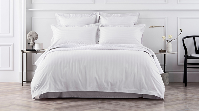 Sheridan Luxury Thread Count Linens Sink into luxury thread count bed linens from Sheridan. Shop wonderfully soft duvet sets, sheets and pillowcases up to 1200 TC.