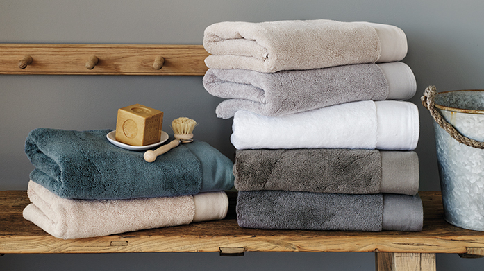 Sheridan Towels Discover absorbent Egyptian cotton and textured towels from luxury homeware brand, Sheridan.