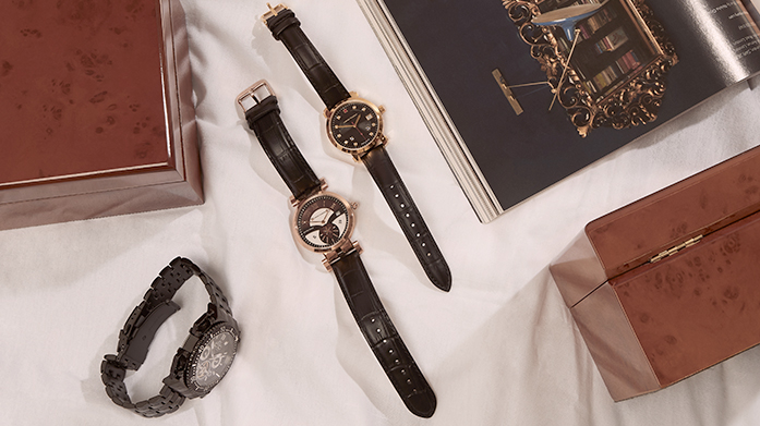 Surprise Gifts for Him Get him an unexpected gift he'll love with our edit of men's accessories featuring sophisticated watches and jewellery.