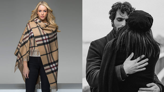 Edinburgh Cashmere Accessories Discover luxurious cashmere scarves and capes for him & her from Edinburgh Cashmere. In classic tartan with colourful updates, embrace the Scottish capital with these styles.