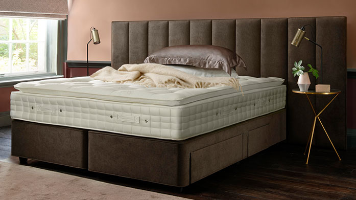 Hypnos Mattresses With a Royal Warrant from Her Majesty Queen Elizabeth II, Hypnos mattresses deliver unparalleled comfort and luxury. Shop our edit and sleep like a queen...