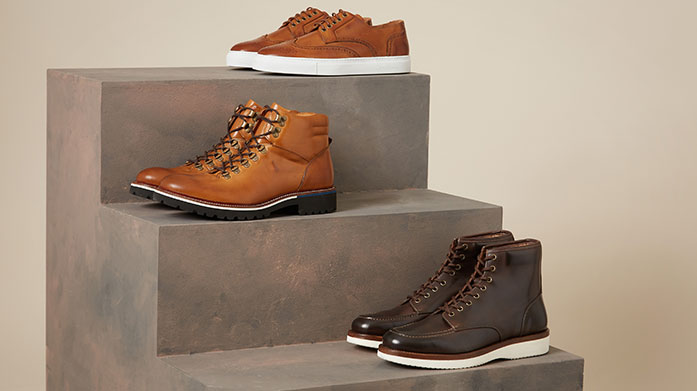 Oliver Sweeney Men's Luxe New Collection  New shoes just in! The men's Oliver Sweeney collection includes leather sneakers, ankle boots and more for autumn.
