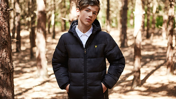 Wrap Up Warm Kids Coats & Jackets Keep your kids protected from the cold elements this winter with cosy styles from Lyle & Scott, Franklin & Marshall and others.