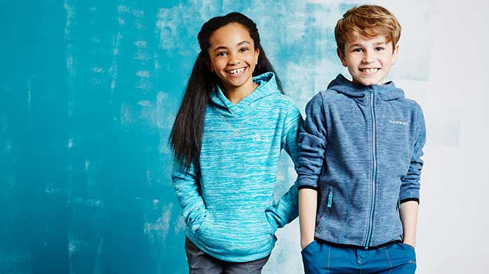 Dare 2B Active Kids Colourful activewear for your little adventurers. Shop coats, jackets, vests, cycle mitts, fleece jumpers and more.