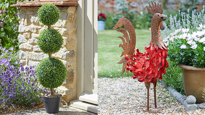 Smart Garden Add some quirky charm to your space with Smart Garden's beautiful outdoor clocks, fun animal ornaments and innovative planters.