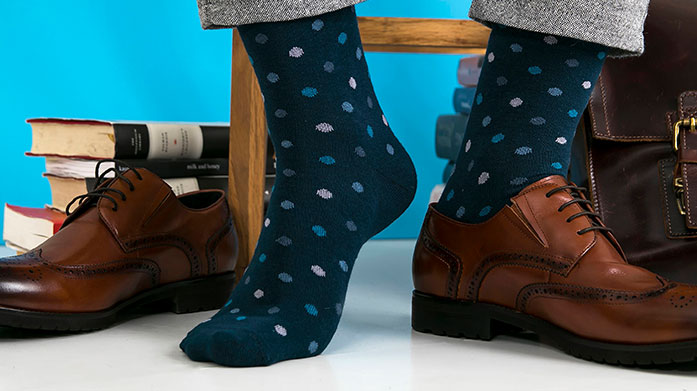 Men's Gift Sock Edit Find the finest socks with our luxurious selection in a range of colours and prints from Black & Parker.
