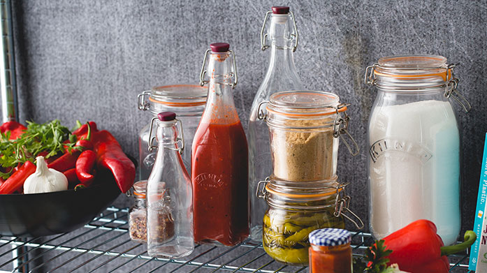 Organise Your Kitchen Cupboards For fans of organisation - this sale is for you. Shop Kilner jars of all shapes and sizes to ensure stylish co-ordination for arguably the most important room in the house.