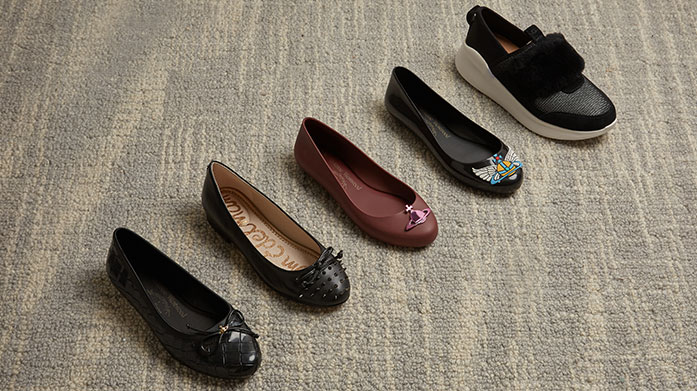 Winter Flats Mix it up from wearing heels this winter, and let comfort take the lead with flat pumps from Joseph, Barker and more...