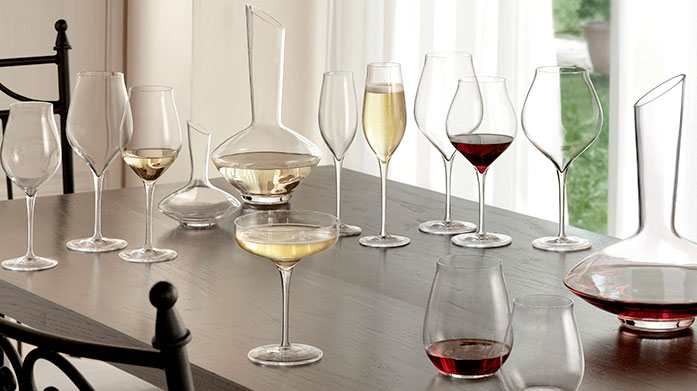Ella Sabatini Add a splash of colour to your table with beautiful coloured glassware from Ella Sabatini. Shop wine glasses, flutes, tumblers and more.
