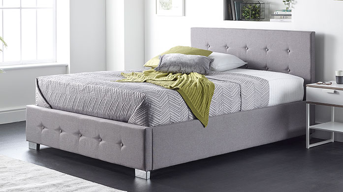 Neat & Chic Storage Beds Both compact and stylish, these bedframes will add a touch of luxe to your bedroom and solve all your storage needs in one!