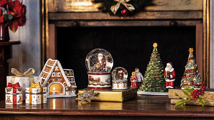 Villeroy & Boch Christmas Magic Add a touch of Christmas magic to your home with Villeroy & Boch's playfully charming decorations & ornaments.