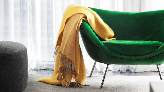 Lanerossi Throws For those chilly autumn nights, wrap up at home in a warm, plush wool or cashmere throw by Lanerossi.