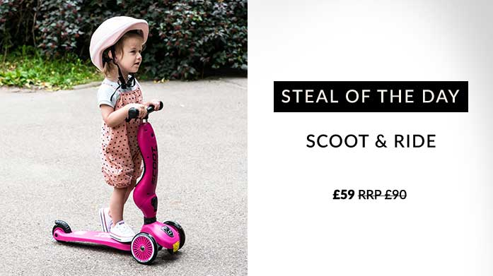Steal of The Day: Scoot & Ride