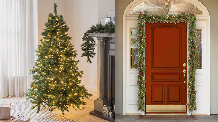 National Tree Company Invest in beautiful Christmas decorations to enjoy this festive season and for years to come! Shop wreaths, garlands and artificial Christmas trees.