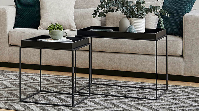 Furniture by Vivense Bring a new focal point into your home with contemporary accent furniture by Vivense. Our sale features coffee tables, bookcases and cabinets.