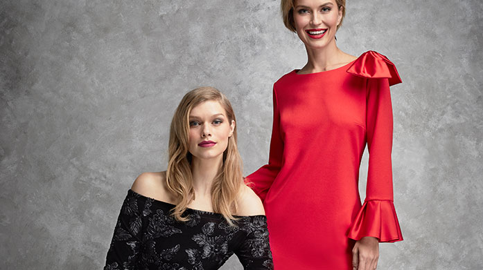 Gina Bacconi Treat yourself to a new dress from our Gina Bacconi collection. Offering stylish & sophisticated options for your intimate dinners out. Dresses from £49.