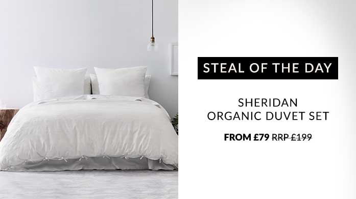 Sheridan Organic Cotton Duvet Set Steal